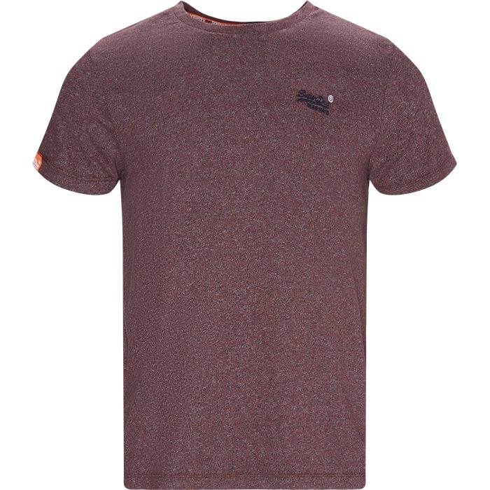 T-shirts - Regular - BORDEAUX